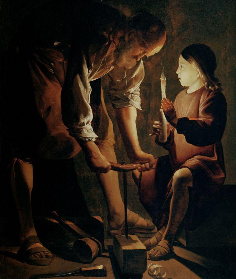 Georges de La Tour - Saint Joseph, patron des charpenteirs.jpg