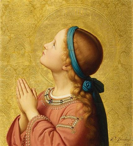 Franz Ittenbach (German, 1813–1879) - La Virgen María 1864